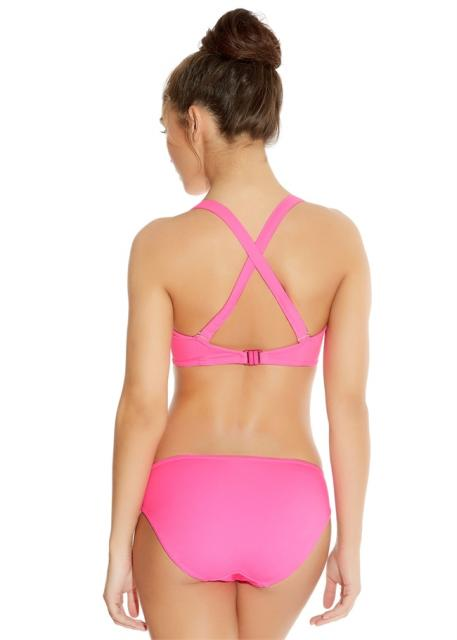 IN-THE-MIX-BRIGHT-PINK-UNDERWIRED-BANDED-HALTER-BIKINI-TOP-3820-HIPSTER-BRIEF-3826-B.jpg