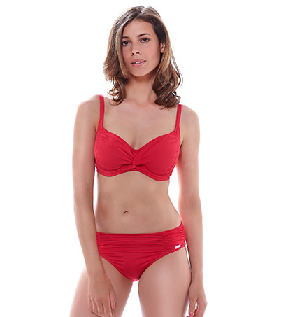 LOS-CABOS-HOT-CORAL-UW-TWIST-FRONT-FULL-CUP-BIKINI-TOP-FS6152-MID-RISE-BRIEF-6155-F.jpg